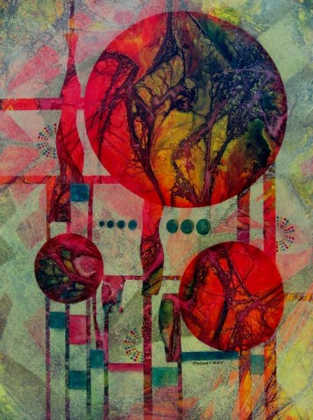 Mixed media by David Raderstorf