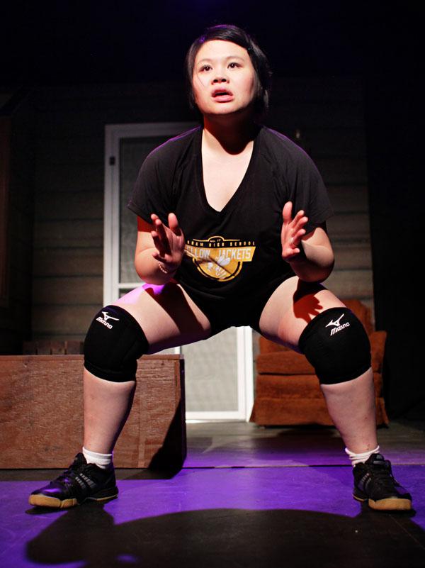 Gaosong Vang as Lia. Photo: Keri Pickett, courtesy of Mu Performing Arts