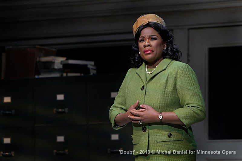 Mrs. Miller (Denyce Graves). Photo: Michal Daniel, courtesy of Minnesota Opera.