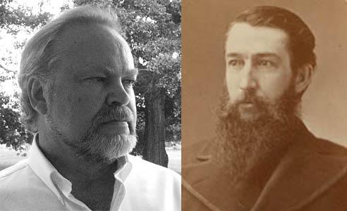 Left: L. Ward Abel; Right: Sidney Lanier. Photo courtesy of Historic Macon Foundation.