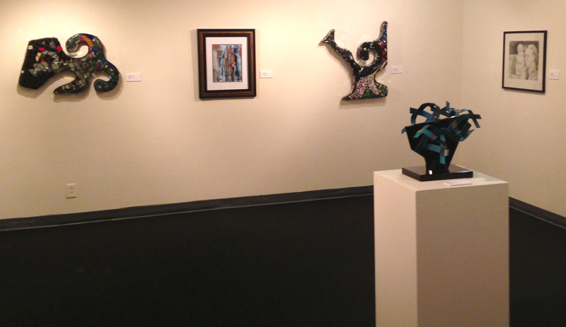 """Full Spectrum"" features 38 works by 17 artists from the Middle Georgia Art Assocation."