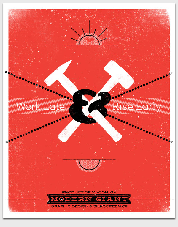 """Work Late and Rise Early"" is arguably Frost's most iconic work to date."