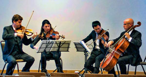 The Ehnes String Quartet.