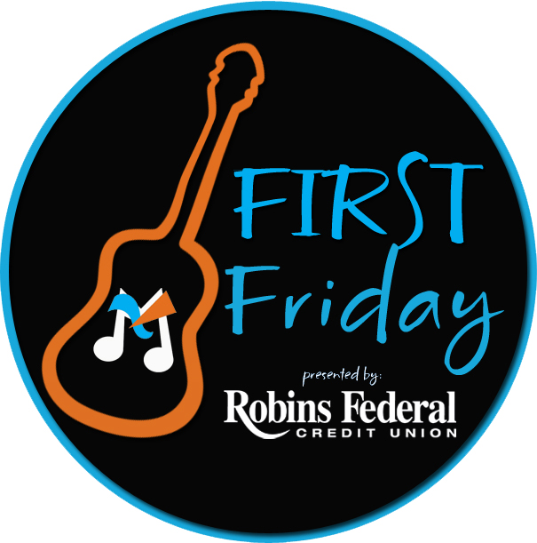 First Friday Macon logo