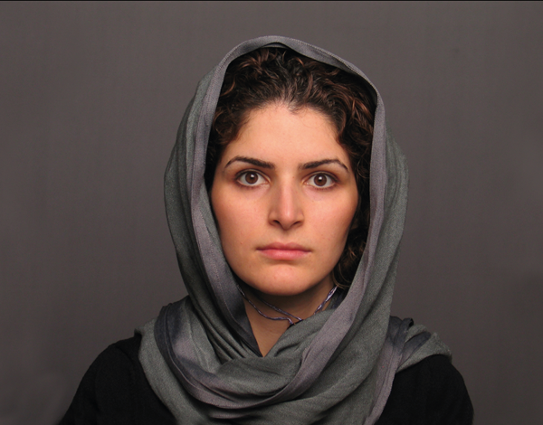 "Haleh Jamali, still from ""Someone who is not like anyone."" Photo courtesy Asian Arts Initiative"