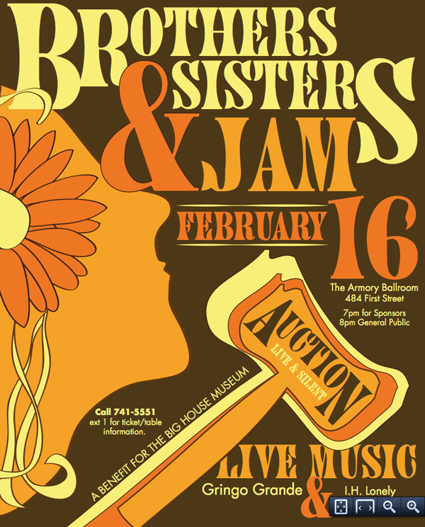 Proceeds of the Brothers and Sisters Jam will benefit the programs of the Allman Brothers Band Museum at The Big House.