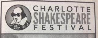 Charlotte Shakespeare Festival Playbill.