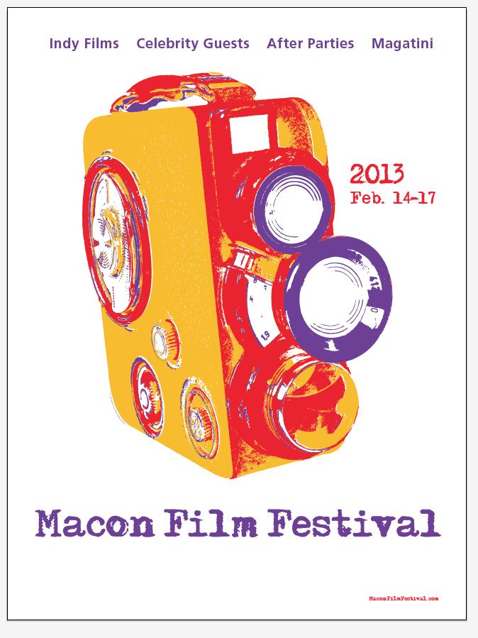 2013 Macon Film Festival poster