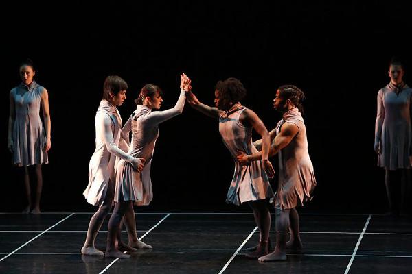 "Kun-Yang Lin/Dancers, ""One - immortal game."" hoto by Bill Hebert (BHPhotos)."