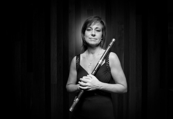 Kathie Steward, flutist. Photo from www.dmvclassical.com