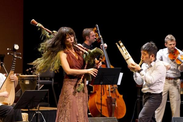 Yo Yo Ma's Silk Road Ensemble. Photo by Todd Rosenberg