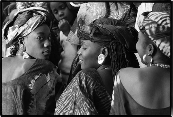 Young Senegalese Women, Dakar, Senegal, 1988 From I Am Because We Are: African Wisdom in Image and Proverb by Betty PressBetty Press signed books at the Ohr-O'Keefe Museum of Art Welcome Center