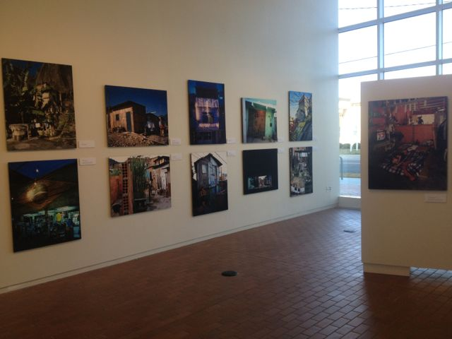 """""""Favelas: Architecture of Survival"""" at UNCC center city building."""