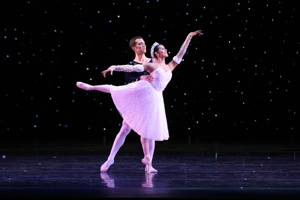 Cinderella and her Prince. Photo courtesy of Ballet Theatre of Ohio