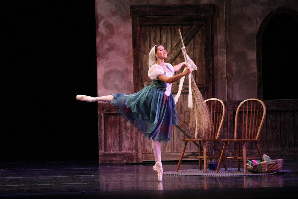 Cinderella as scullery maid. Photo courtesy of Ballet Theatre of Ohio