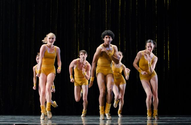 """The Golden Section"" Choreographed by Twyla Tharp. Photo by Tom Johnson."