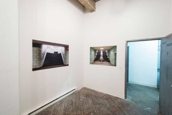 "Another install shot of ""Interruptions"" by Victoria Lucas. Photo by Jaime Alvarez"