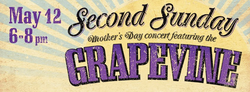 The Second Sunday Mother's Day concert will feature The Grapvine