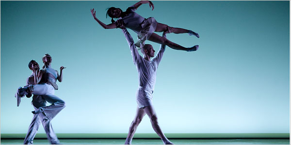 Cedar Lake Dance Company. Photo from nytimes.com