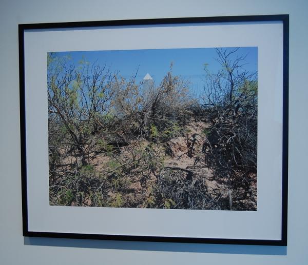 "David Taylor, ""Border Monument No. 10, 2008."""
