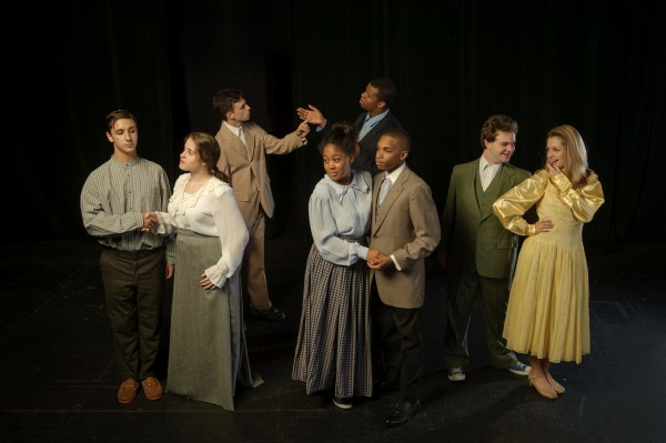 """Ragtime,"" Akron Civic Theatre. Photo by Dale Dong"