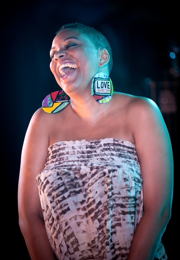 Stevy Mahy headlined the night at Big Night in Little Haiti. Photo Luis Olazabal