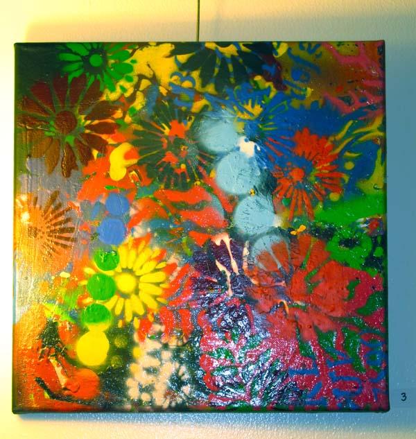 """""""Graphic Garden"""" by Gilda Snowden."""
