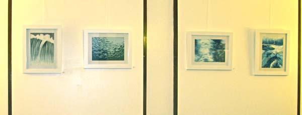 A series of new work in pastels by Senghor Reid.
