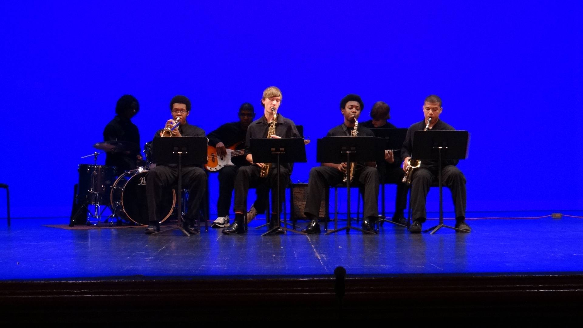 Douglass Jazz Ensemble - Photo by Connie Davis.