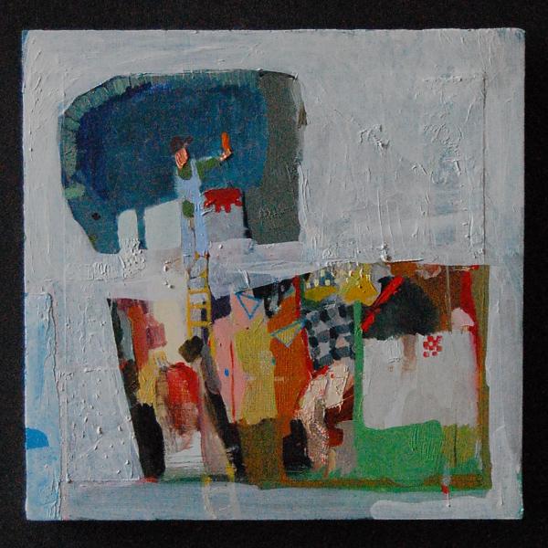 "Mariel Capanna, ""Sign-Painter."""