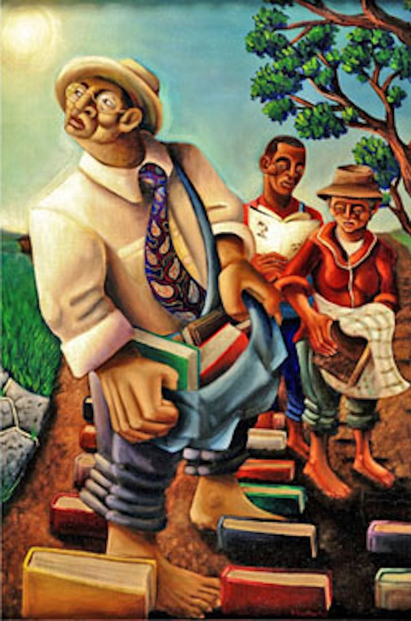 The Cultivators, Oil on Canvas, © Samuel L. Dunson, Jr.