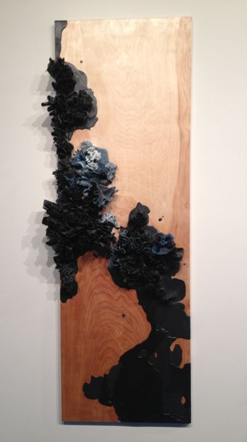"""Untitled 11.14"" by Natalie Abrams 2001 Wax on Panel."