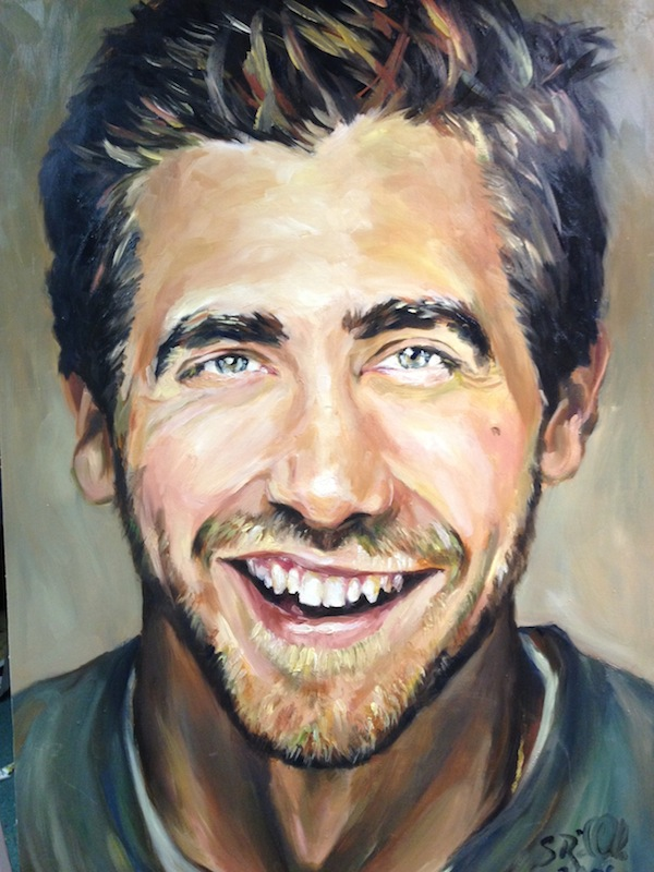 """Jake Gyllenhaal"" by Shannon Riddle"