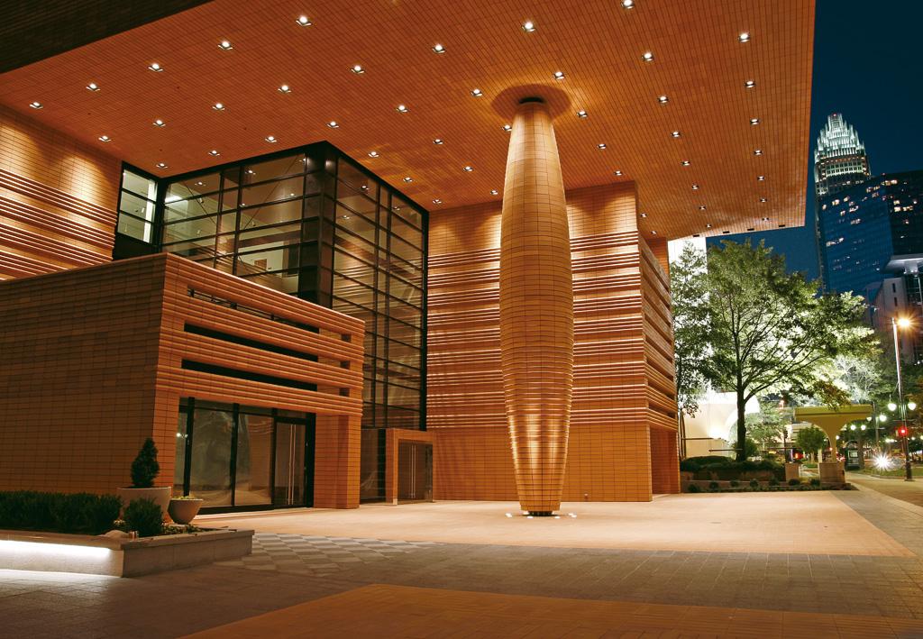 Exterior of Bechtler Museum of Modern Art