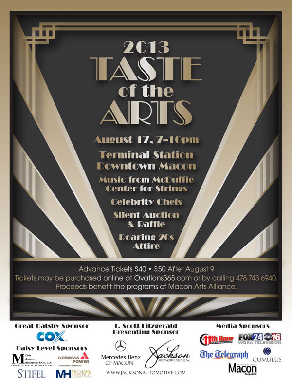 Taste of the Arts poster