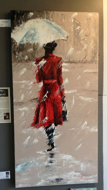 """Red Rain Walk"" by Monroe S. Tarver."