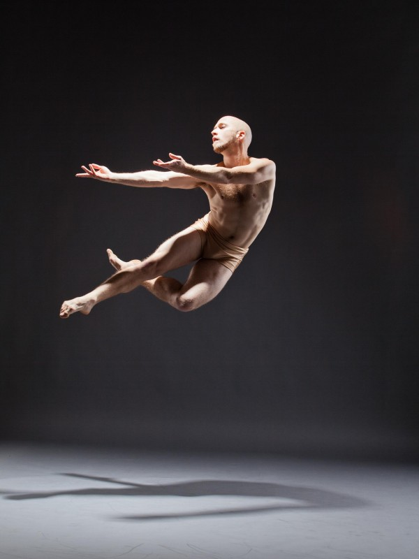 Colby Damon, dancer for BalletX. Photo courtesy of DANCECleveland