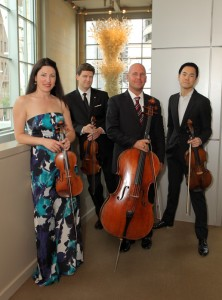 The Ehnes Quartet.