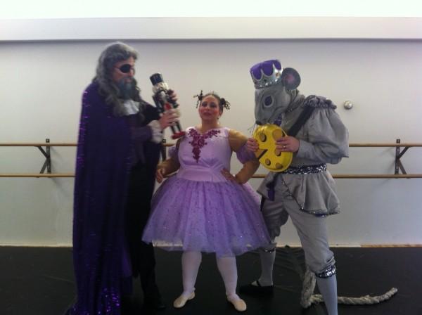 "Sugar Plump Fairy in ""Nutty Nutcracker."" Photo courtesy of Ballet Theatre of Ohio"