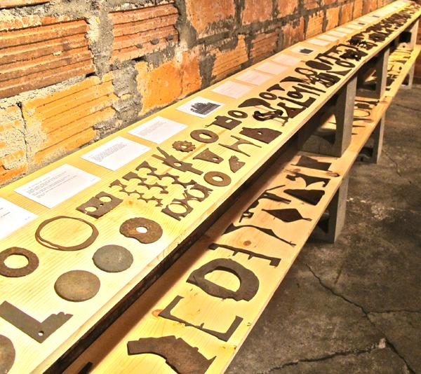 Steve Panton's collection of railroad ephemera.